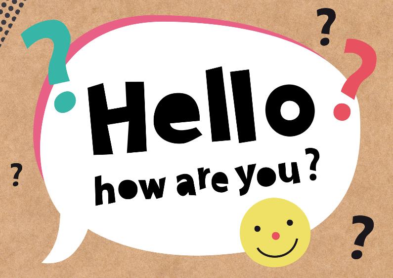 Zomaar-Hello, how are you?-HK 1