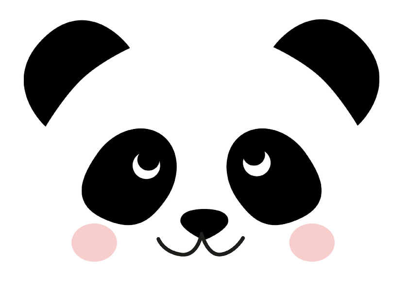 Zomaar kaart Panda 1
