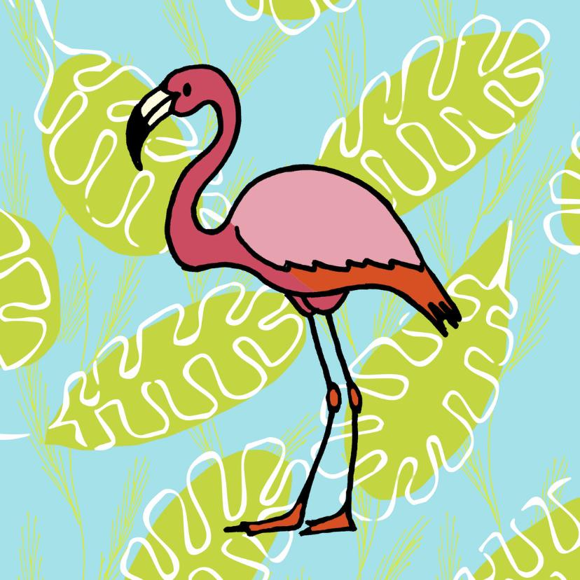 Zomaar kaarten - flamingo fun 1