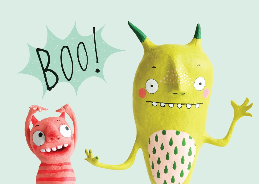 Zomaar monsters boo! 1
