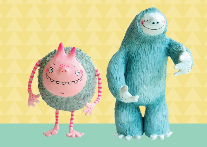 Zomaar Twee monsters 1