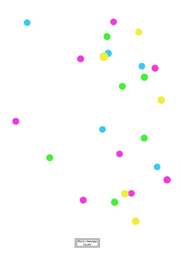 Zomaarkaart Confetti 2