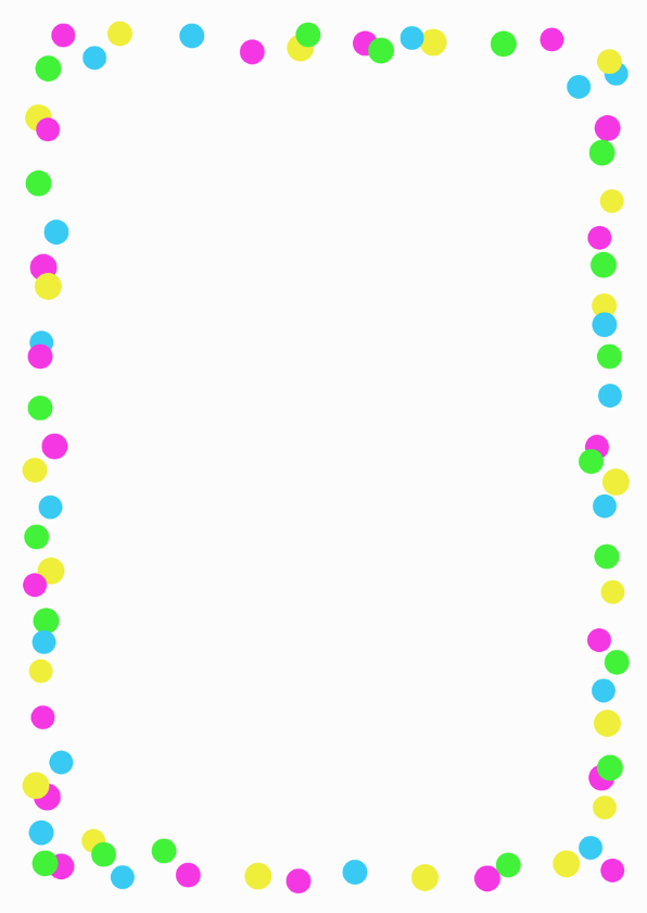 Zomaarkaart Confetti 3