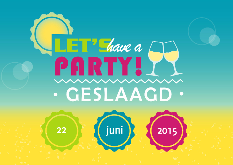 Zomers feest geslaagd 1