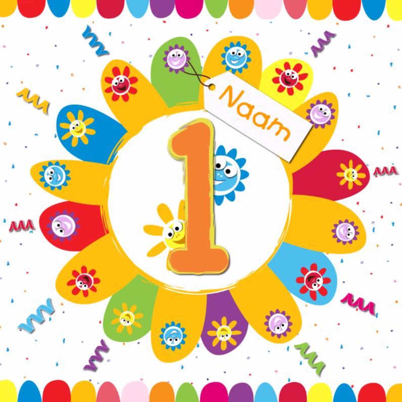 Verjaardagskaart Kind 8 Jaar Vcu 85 Wofosogo