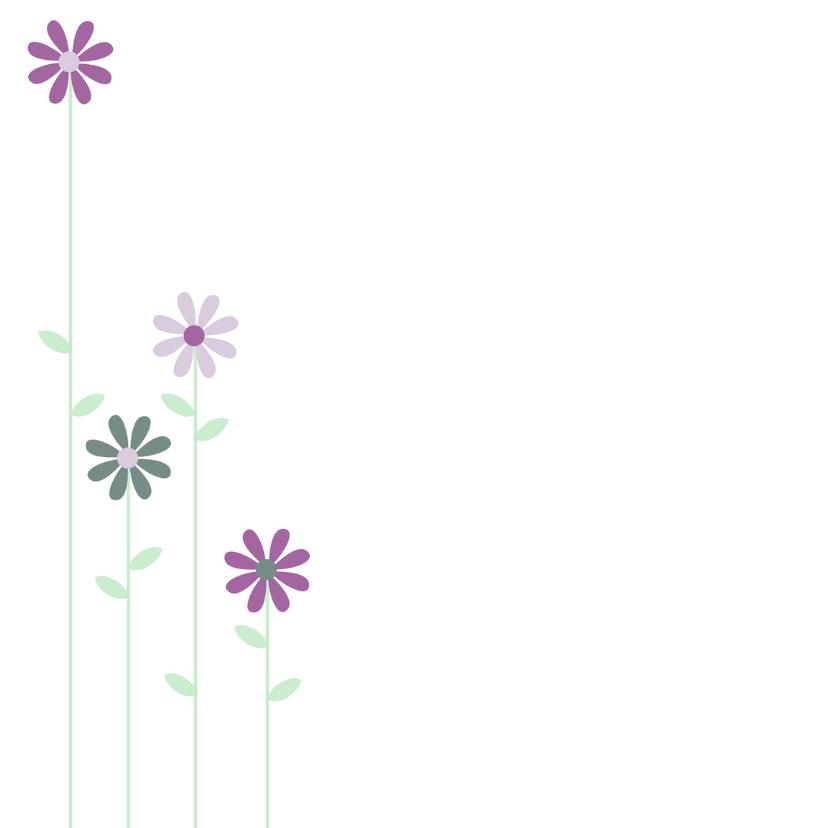 zwanger met bloemen 2