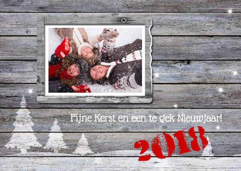 Kerstkaarten - 14252 Kerstkaart Eigen foto