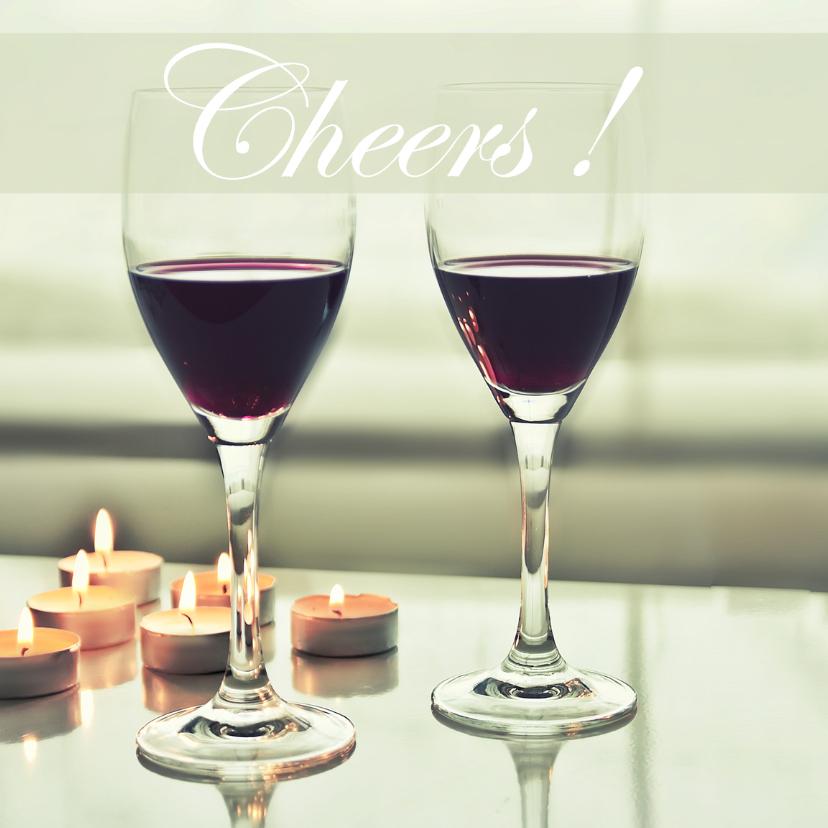 Kerstkaarten - Cheers to you