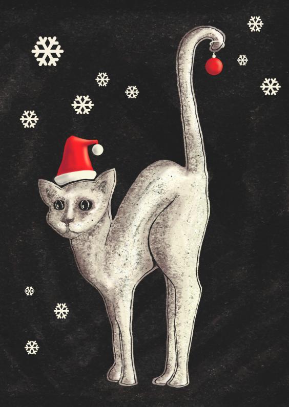 Kerstkaarten - ChristmasCat