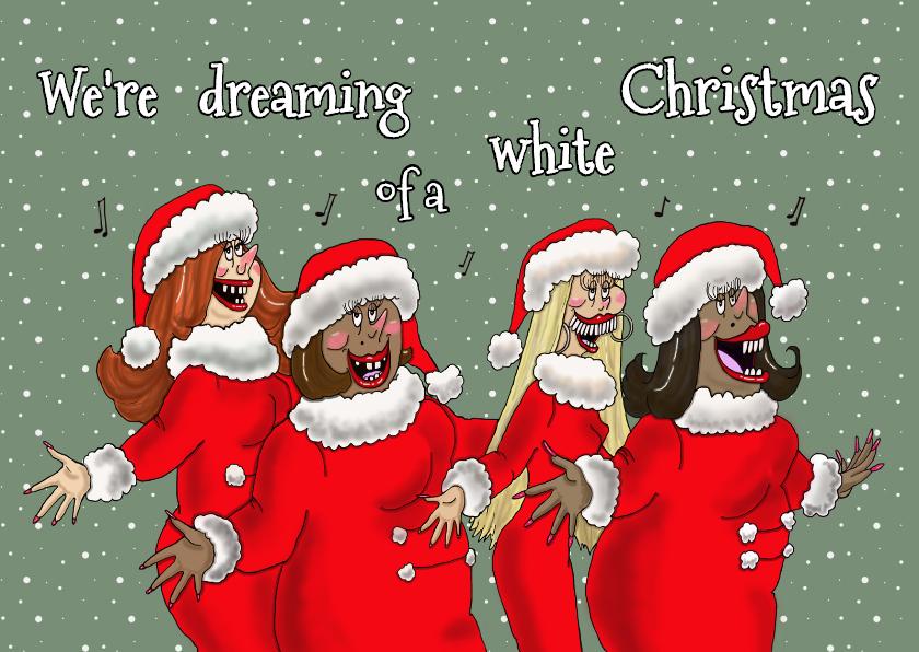 Kerstkaarten - Christmasgirls