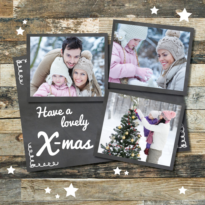 Kerstkaarten - Collage kerstkaart - LOVZ