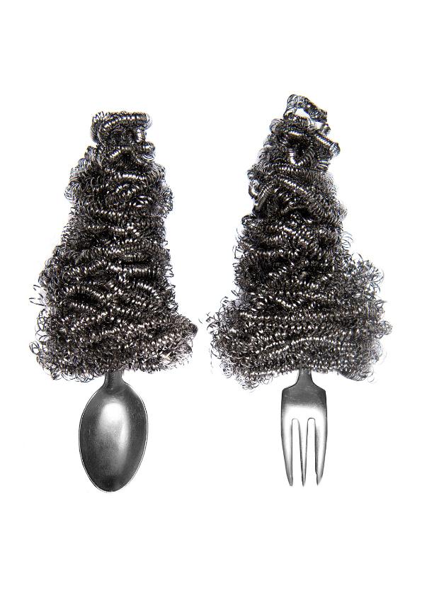 Kerstkaarten - Dessert duo