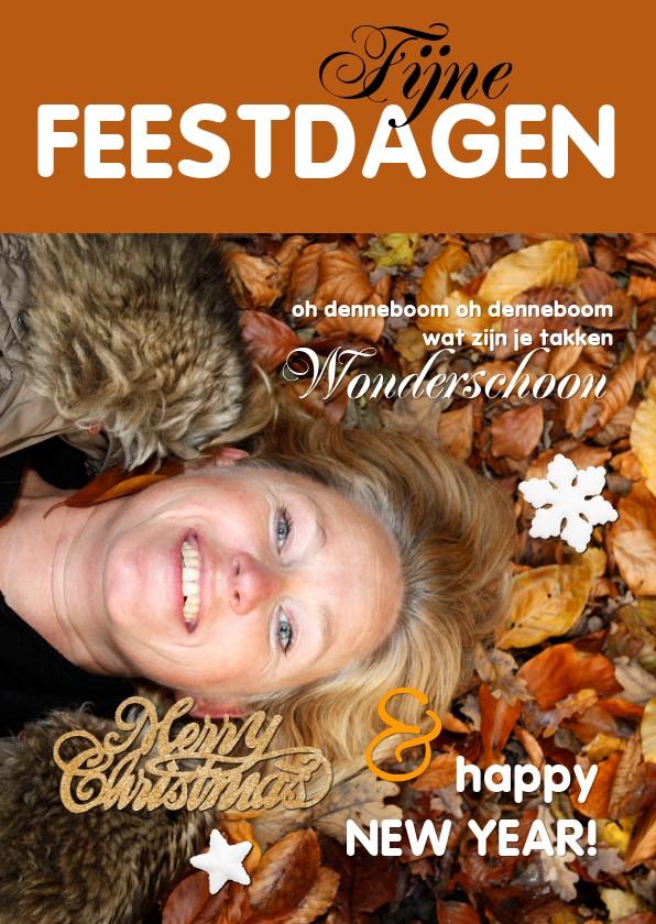 Kerstkaarten - Feestdagen eigen foto magazine 2020