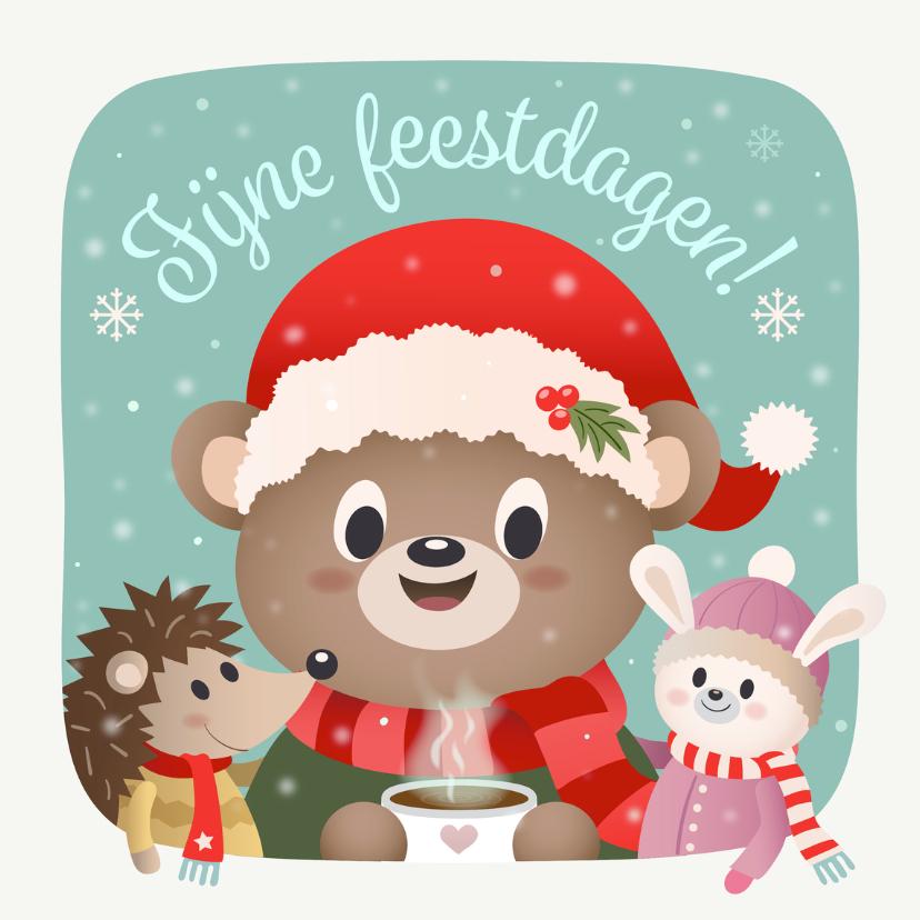 Kerstkaarten - Fijne feestdagen - TW