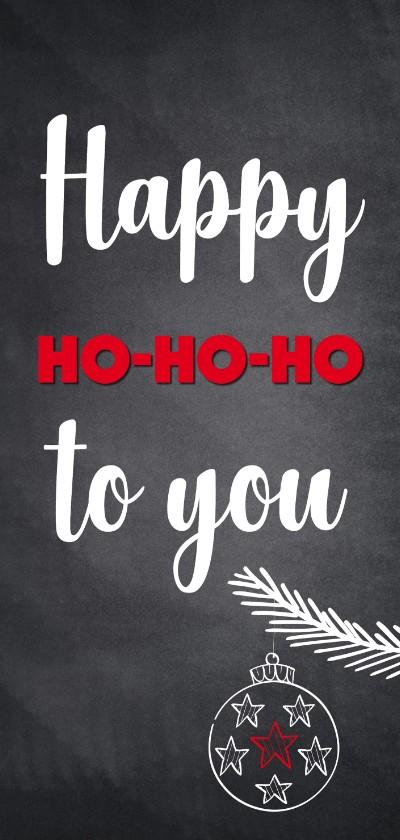 Kerstkaarten - Happy ho-ho-ho to you