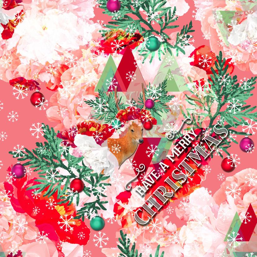 Kerstkaarten - Have a merry christmas