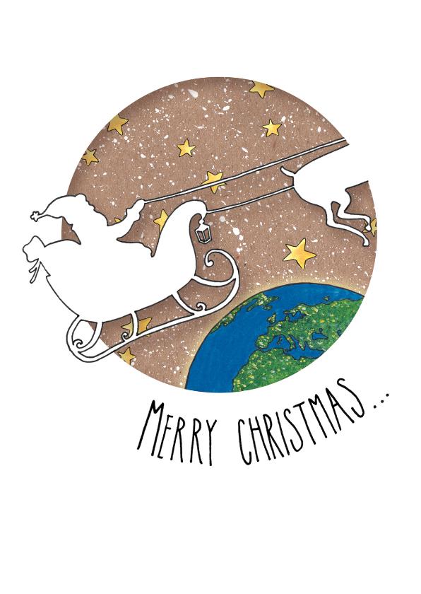 Kerstkaarten - Hohoho Merry Christmas... _LS