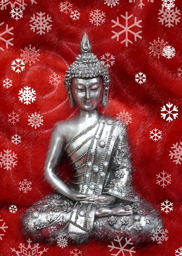 Kerstkaarten - Kerst - Christmas Buddha