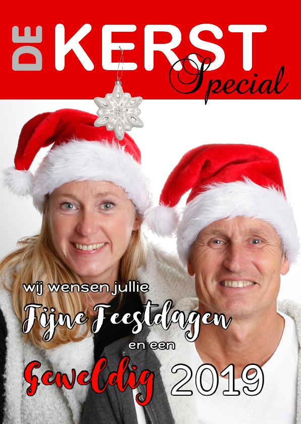 Kerstkaarten - Kerst cover eigen foto 2019 - 2 - OT
