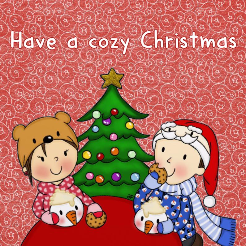 Kerstkaarten - Kerst Cozy Christmas - TbJ
