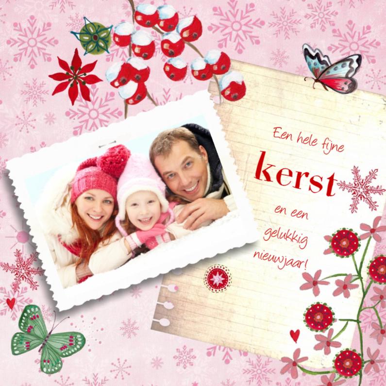 Kerstkaarten - Kerst Eigen Foto Notitie