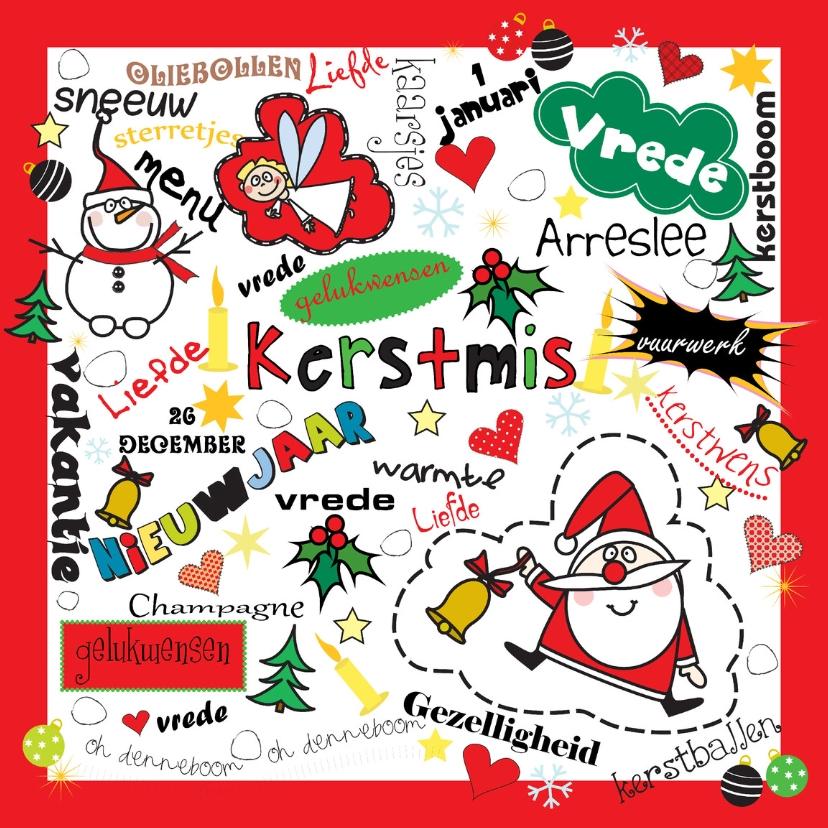 Kerstkaarten - Kerst en Nieuwjaarskaart