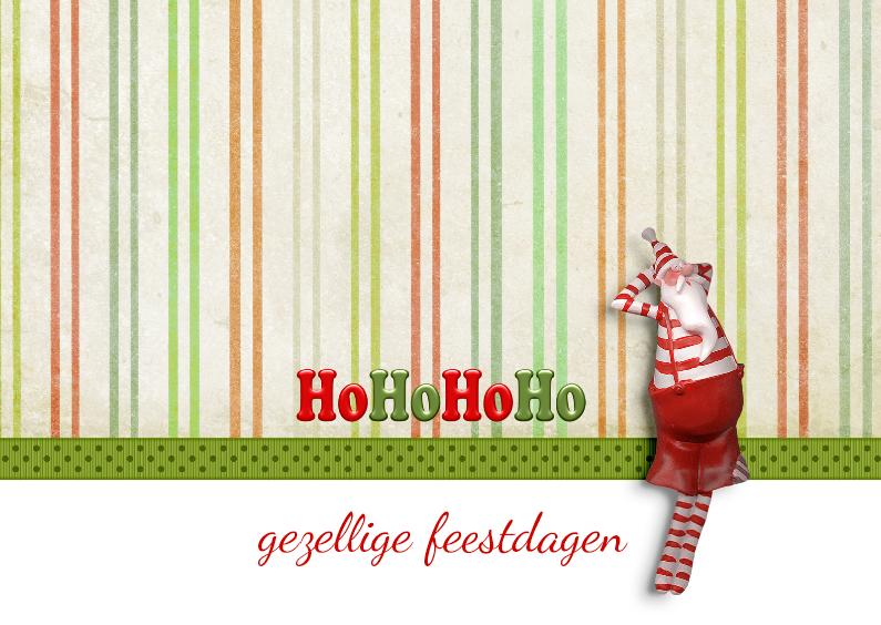 Kerstkaarten - Kerst Hohohoho - JD