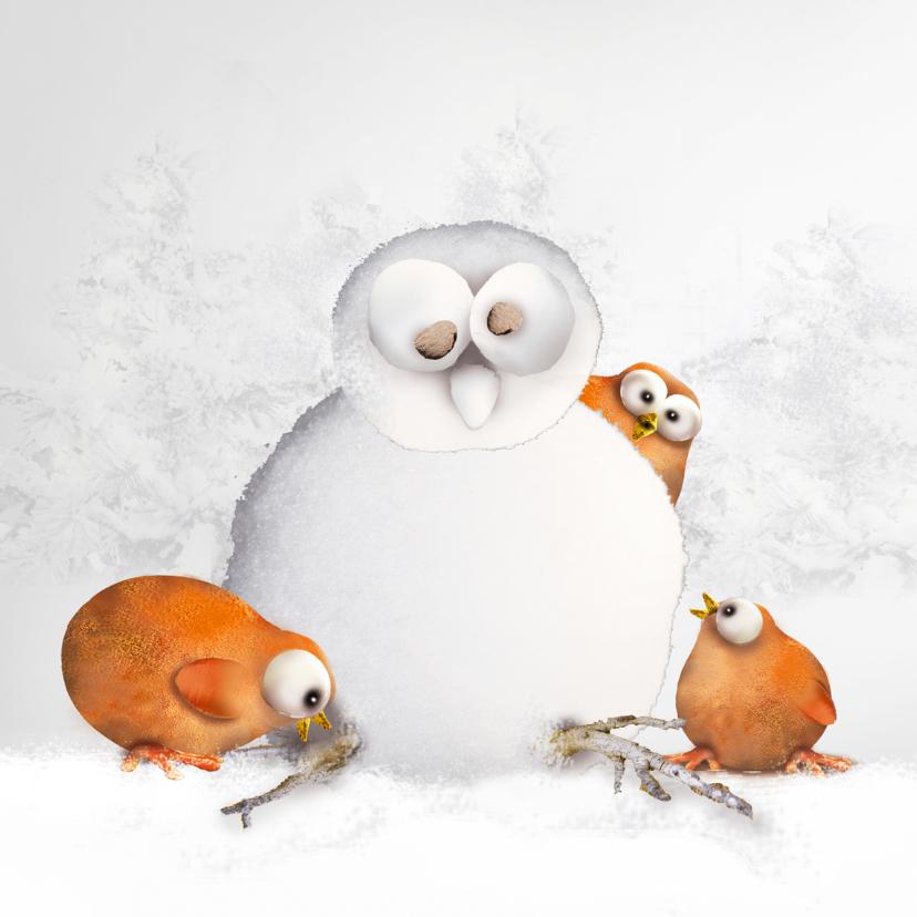 Kerstkaarten - Kerst in de sneeuw!