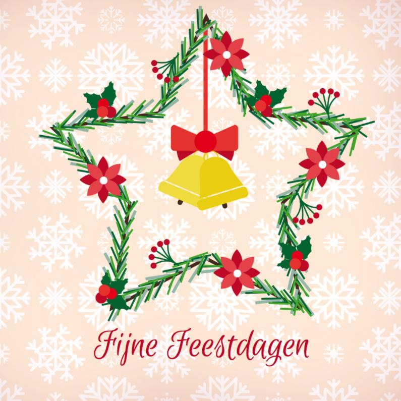 Kerstkaarten - Kerst krans 2