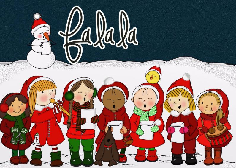 Kerst Lief Kerstkoortje - TbJ 1