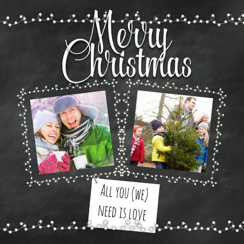 Kerstkaarten - Kerst met veel liefde-isf