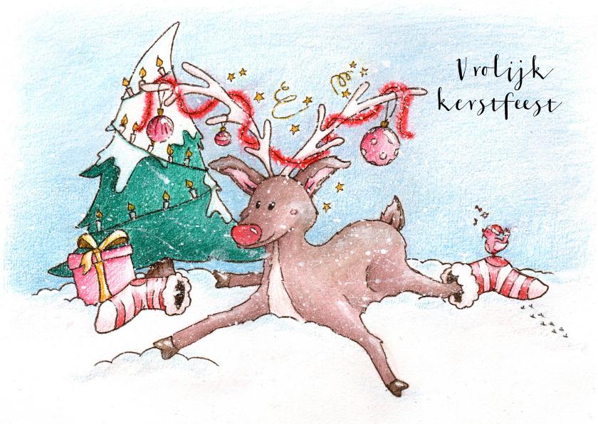 Kerst Rendier Illu-Straver 1