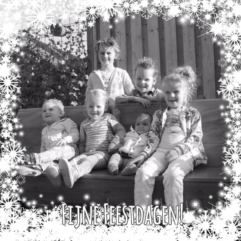 Kerstkaarten - Kerst sneeuw en twinkeling Vknt