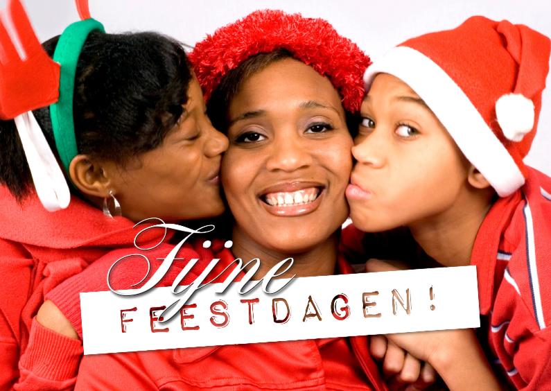 Kerst Tekst op foto liggend - BK 1