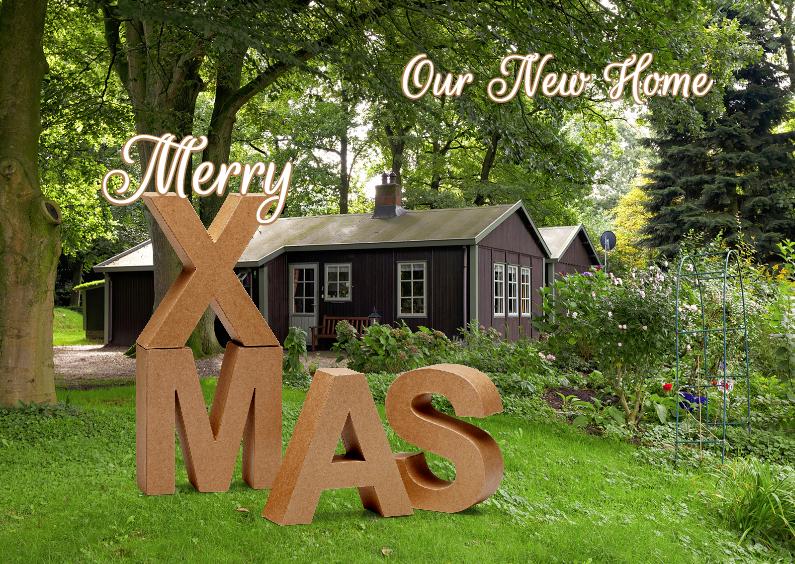 Kerst Verhuiskaart XMAS - OT 1