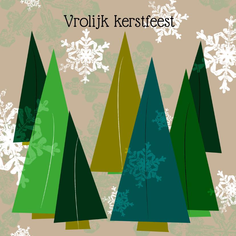Kerstkaarten - Kerstbomen Nicole Habets