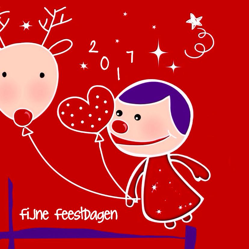 Kerstkaarten - Kerstkaart CliniClowns Kerst 3