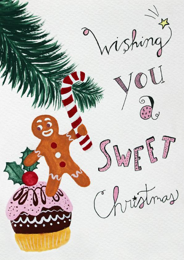 Kerstkaarten - Kerstkaart CliniClowns peperkoek