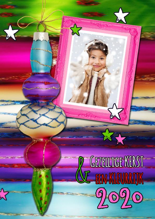 Kerstkaarten - Kerstkaart Gipsy Kleuren 2019