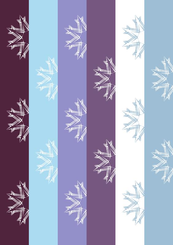 Kerstkaarten - Kerstkaart ijsblauw kerstster OT