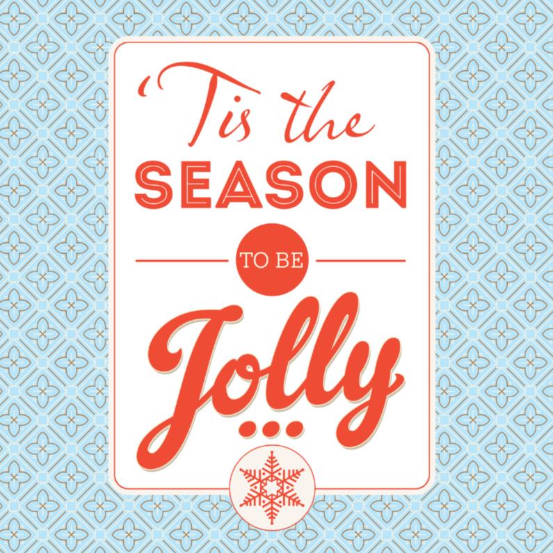 Kerstkaarten - Kerstkaart Jolly