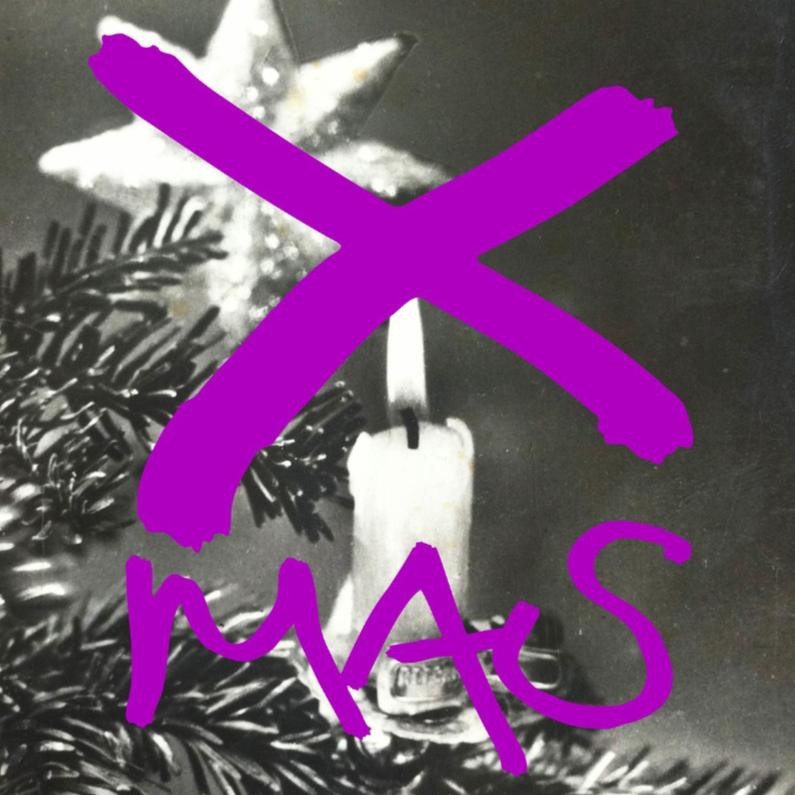 Kerstkaarten - kerstkaart kaarsje