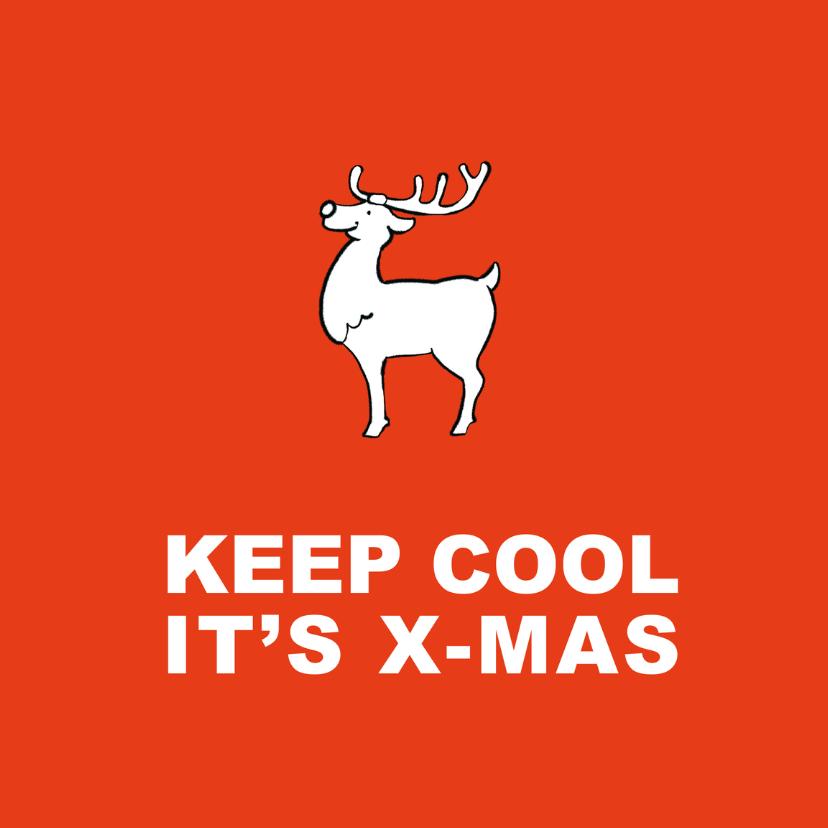 Kerstkaarten - Kerstkaart Keep Cool