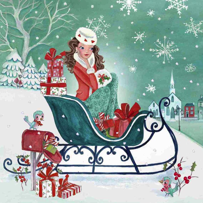 Kerstkaarten - Kerstkaart kerst Shoppen