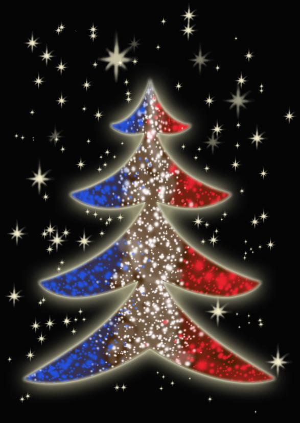 Kerstkaarten - Kerstkaart Kerstlicht NA