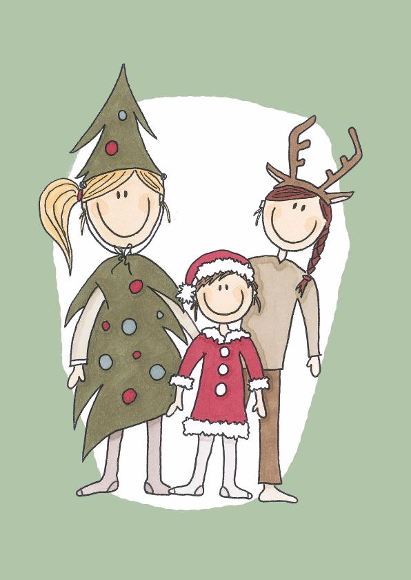 Kerstkaarten - Kerstkaart Kinderen - LFZ