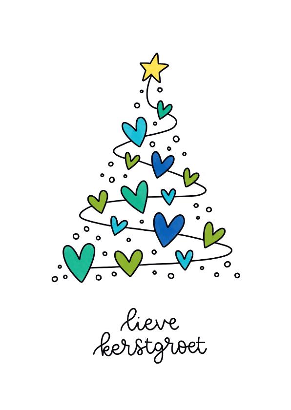 Kerstkaarten - Kerstkaart - Lieve kerstgroet