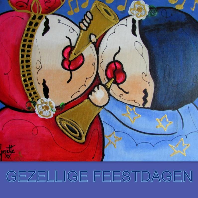 Kerstkaarten - Kerstkaart - Little angels