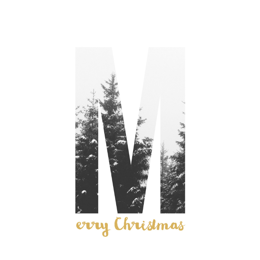Kerstkaarten - Kerstkaart M