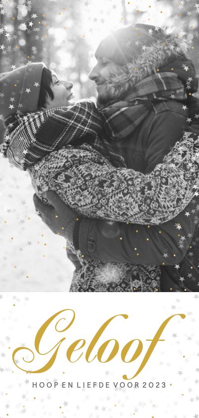 Kerstkaarten - Kerstkaart met een liefdevolle foto